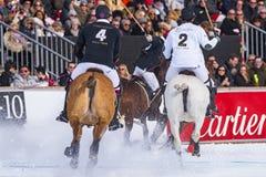 Snow Polo Cup 2017 Sankt Moritz Royalty Free Stock Photos