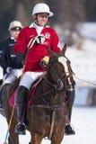 Snow Polo Cup 2017 Sankt Moritz Stock Photos