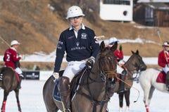 Snow Polo Cup 2017 Sankt Moritz Stock Photography