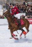 Snow Polo Cup 2017 Sankt Moritz Royalty Free Stock Image