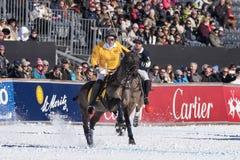 Snow Polo World Cup Sankt Moritz 2016 Royalty Free Stock Image