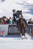 Snow Polo World Cup Sankt Moritz 2016 Stock Images