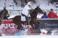 Snow Polo World Cup Sankt Moritz 2016 Royalty Free Stock Photography