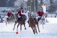 Snow Polo World Cup Sankt Moritz 2016 Royalty Free Stock Image