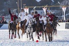 Snow Polo World Cup Sankt Moritz 2016 Stock Photography