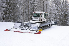 Snow preparation Royalty Free Stock Image