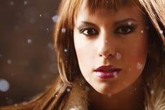 Snow princess Royalty Free Stock Photos