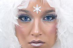 Snow Princess Stock Images