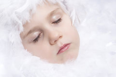 Snow Princess Royalty Free Stock Images