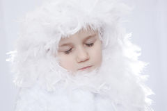 Snow Princess Stock Photos
