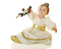 Snow Princess Shaking Stock Images