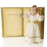 Snow Princess Story Stock Photo