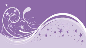 Snow purple background. Nice vector file stock illustration