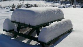Snow in Quebec. Canada, north America. Stock Photos