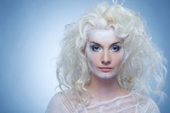 Snow queen. Picture of a Snow queen Stock Photography