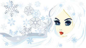 Snow queen Royalty Free Stock Image