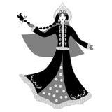 Snow queen black Stock Photo