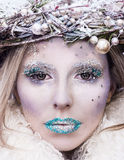 Snow Queen. Christmas is coming with the Snow Queen royalty free stock images