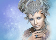 Snow Queen, 3d CG Stock Photos