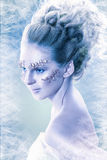 Snow-queen Royalty Free Stock Photography