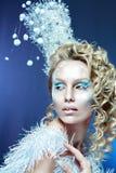 Snow-queen Royalty Free Stock Photo