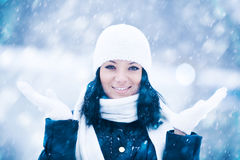 Snow qween Stock Photography