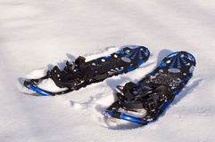Snow rackets Stock Image