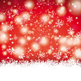Snow Red Centre Line Background Stock Photo