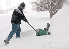Snow Removal Stock Photo