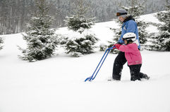 Snow removal Stock Images