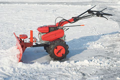 Snow Removal Equipment Stock Photos