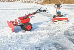 Snow Removal Equipment Royalty Free Stock Photography