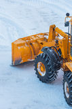 Snow removal Stock Photos