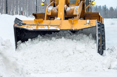Snow removal Stock Photography