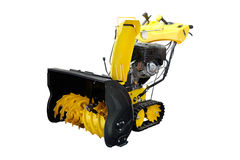 Snow-removal machine Royalty Free Stock Photos