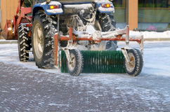 Snow removal tractor. Stock Photography