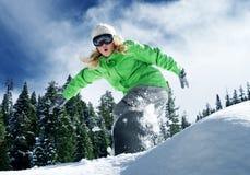 Snow ride Royalty Free Stock Image