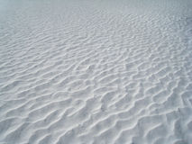 Snow Ripples Royalty Free Stock Photo