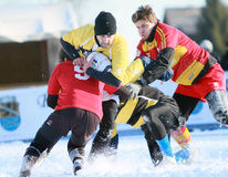 SNOW RUGBY INTERNATIONAL TARVISIO Stock Images