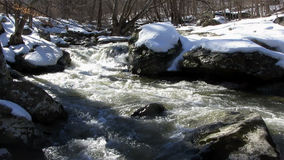 Snow Runoff at Friends Creek Stock Photo