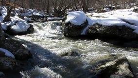 Snow Runoff at Friends Creek Stock Photo