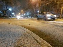 Snow Santiago Stock Images