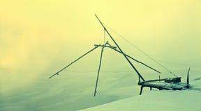 Snow scene Stock Images