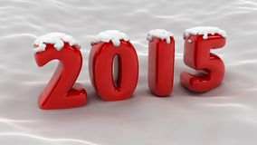 2015 Snow Scene Stock Photos