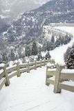 Snow scenery Royalty Free Stock Images