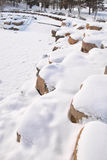 Snow scenery Stock Photography