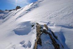 Snow scenery Stock Photography