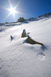 Snow scenery Stock Images