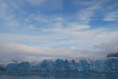Snow and sea in svalbard islands Stock Photography