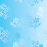 Snow seamless background. Snowflakes seamless background, seamless cloudy pattern Stock Photo